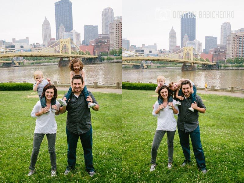 Michelle, Mike, Ava, Vinny Family Photoshoot   Dmitriy Babichenko   Pittsburgh Photographer