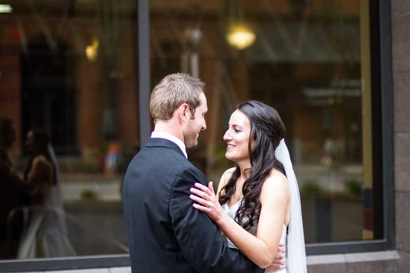 Rachel`s and Jason`s Wedding: First Look | Dmitriy Babichenko, Pittsburgh Wedding Photographer