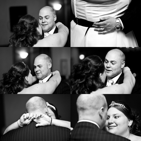 Steph and Jon`s wedding photography first dance