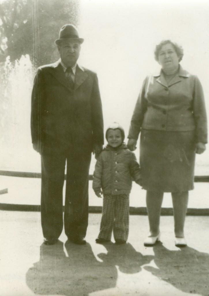 My grandfather David and grandmother Celia