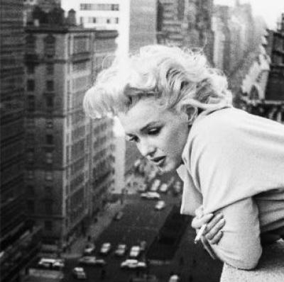 Marilyn Monroe, Manhattan Rooftop