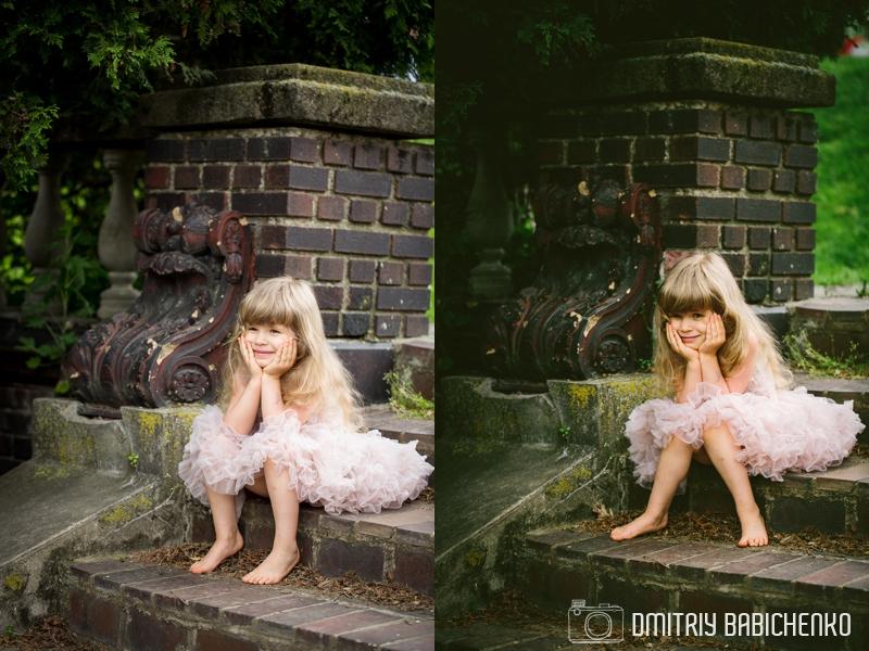 Daniella and Sophia at Mellon Park | Dmitriy Babichenko Photography